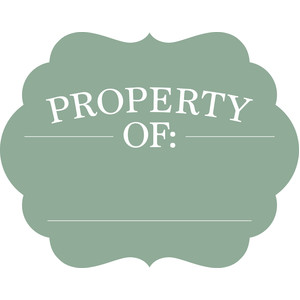 property of label