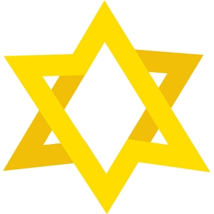 star of david layered