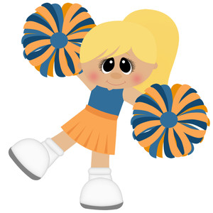 cheerleader football