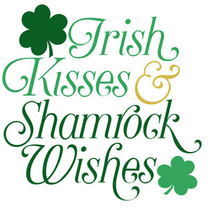 Image result for shamrock kisses images