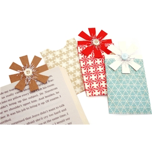 bow gift card bookmark