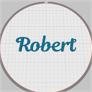 robert name pendant