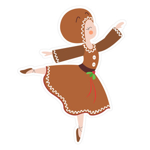 gingerbread dancer