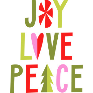 joy love peace phrase