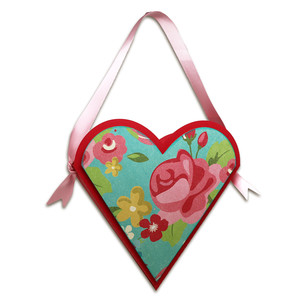 hanging heart box