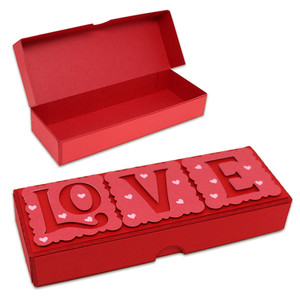 love hinged box