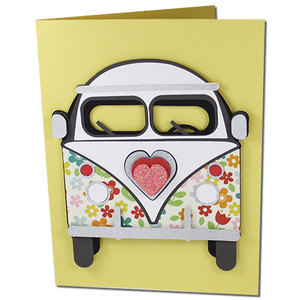 valentines bus card