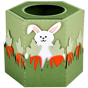 bunny fun easter egg cup