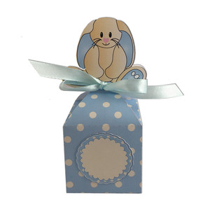 blue easter bunny anything box