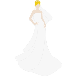 Jane Paper Doll Bride