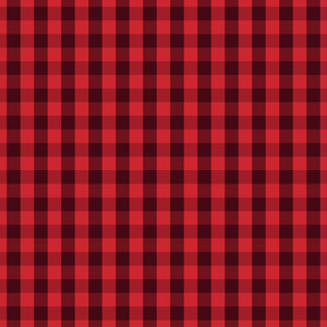 red gingham christmas pattern