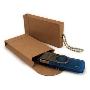 thumb drive storage 3d sleeve