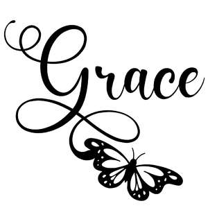 grace butterfly word