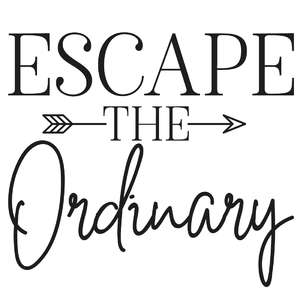escape the ordinary arrow quote