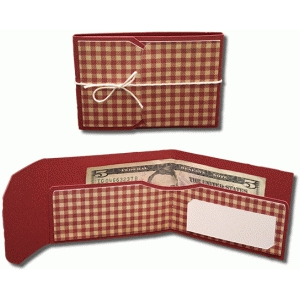 money wallet with flap