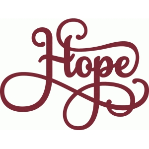 hope phrase - perfect flourish