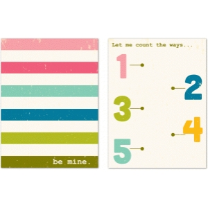 be mine journaling cards