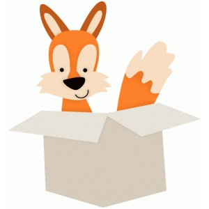 x is for fox in a box