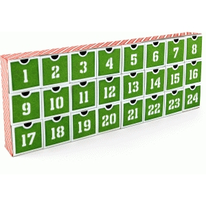 24-day christmas countdown advent calendar