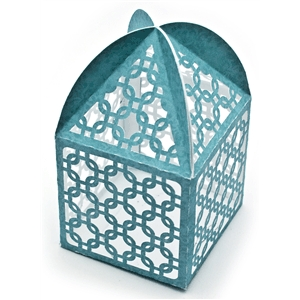 box lace cube tent top
