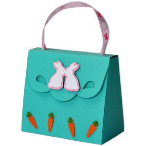 easter bunny treat purse