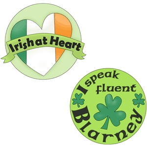 irish buttons