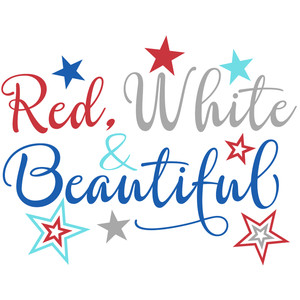 red white & beautiful