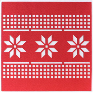 christmas geometric card