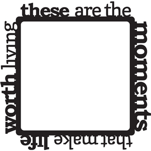 inspirational border frame