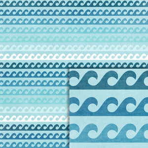 waves background paper
