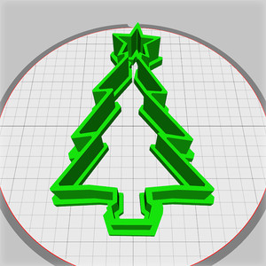 christmas tree dough cutter