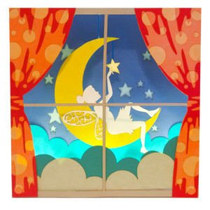 window moon nightlight