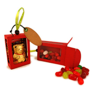 box ornament 3d for candy bear
