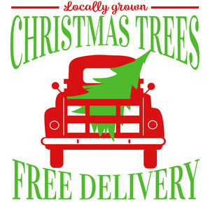 christmas tree free delivery