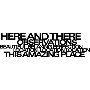 phrase: amazing place