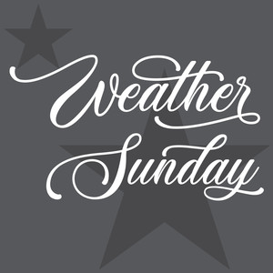 weather sunday font
