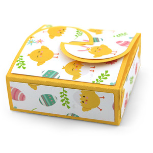 favor box no-glue cookie box