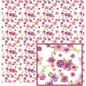 flower vines pattern