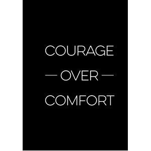 courage comfort - a5 planner
