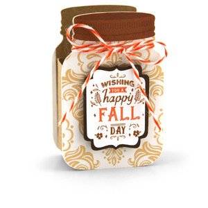 mason jar treat box fall day