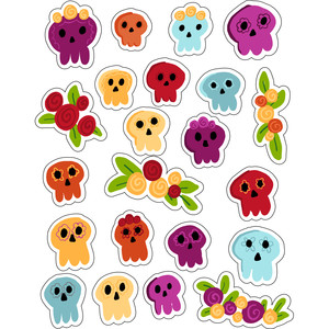 ml day of the dead stickers