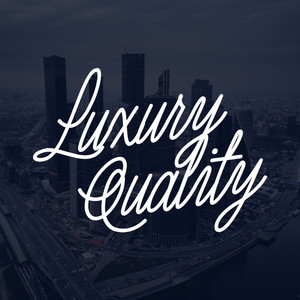 luxury quality font