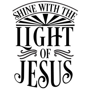 shine light of jesus