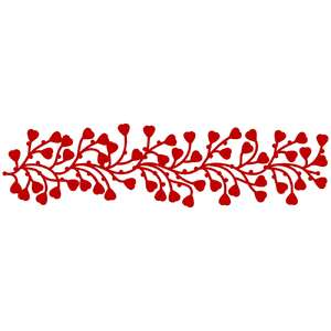 entangled hearts border