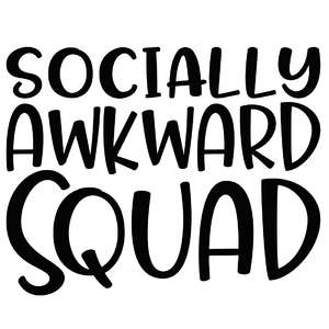 socially awkward squad