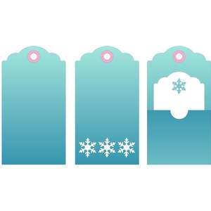 winter tag set