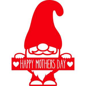 gnome happy mothers day banner