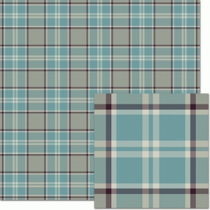 teal & dark aqua plaid pattern