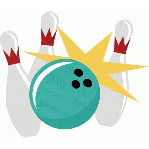 bowling ball crashing into pins