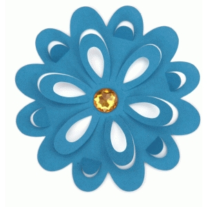3d lori whitlock pop up petal flower